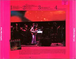 Sofa Frank Zappa Frank Zappa Official Release 23 Zappa In New York Wolf U0027s