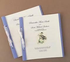 ideas for wedding programs diy wedding programs allfreepapercrafts