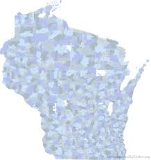 Wisconsin Map Cities by Printable Zip Code Maps Free Download