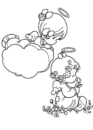 precious moments love coloring pages pergamano dzieci