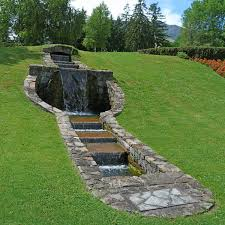 free images landscape water lawn walkway pond green