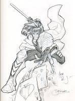 gambit by wakyfight26 on deviantart