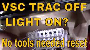 trac off and check engine light toyota how to do a zero point calibration on lexus and toyota vsc trac off