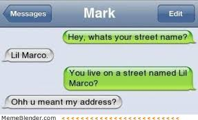Funny Texts Memes - funny texts what s your street name meme shuffle pinterest