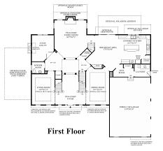 marlboro ridge the estates the harding home design 1st floor floor plan