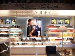 shop in shop interior the new estee lauder cosmetics shop in shop shelf pinterest