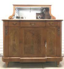 mirror antique sideboards u0026 buffets 1900 1950 ebay