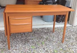 Danish Modern Teak Desk by Time Capsule Sold Danish Modern Teak Desk Sliding Top And