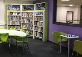 secondary library design case study werneth high