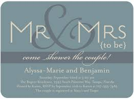 Couple S Shower Invitations Jack And Jill Shower Invitations Here U0027s A Pretty Yet Simple