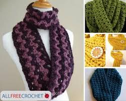 simple pattern crochet scarf 19 quick and easy crochet scarves allfreecrochet com