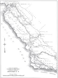 210 Freeway Map California Division Of Highways District Maps Caltrans U2013 1947