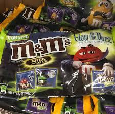 found m u0026m u0027s glow in the dark trick or treat packs snack gator