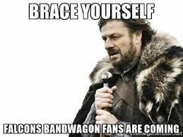 Nfl Bandwagon Memes - this bandwagon is going to houston super bowl bound atlanta