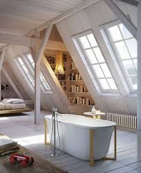 attic bathroom ideas wooden attic bathroom ideas