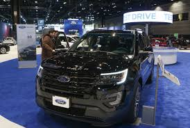 Ford Explorer Dashboard - explorer and taurus front and center at chicago auto show