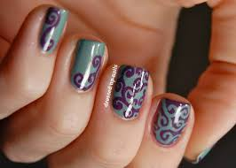 nail art freehand nail art flowers free hand of browning deerfree