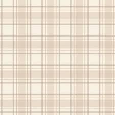tartan pattern tartan wallpaper neutral beige cream ilw980024 from henderson