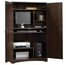 Solid Oak Computer Armoire by Computer Armoire Also With A Armoire Desk Also With A Desk Armoire