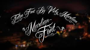 48 free tattoo fonts for your body art fonts free tattoo fonts
