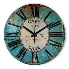 Home Decor Wall Clock Compare Prices On Vintage Wall Clocks Online Shopping Buy Low