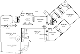 ranch floor plans with split bedrooms 4 bedroom floor plans ranch amazing one level house plans gif