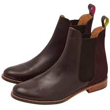 womens boots joules joules womens westbourne oxblood leather chelsea boot