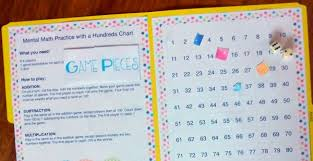 mental math practice with a hundreds chart u2014 happy homeschool nest