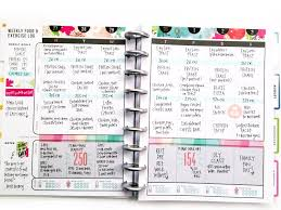 two weeks in the happy planner fitness planner fitness planner