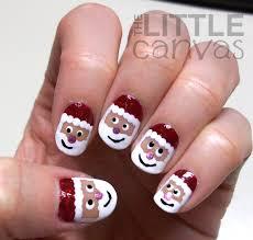 santa claus nail art designs santa nail designs nails