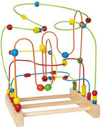 wooden bead toy table activity tables mazes wooden toys