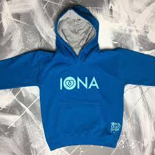 kids iona hoodie aqua u2013 iona craft shop