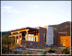 Southwest Style Home Plans Southwestern Style And Green Building Concept For Modern House