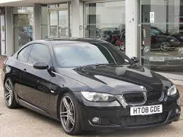 used bmw 3 series uk used bmw 3 series 2008 diesel 335d m sport coupe black edition for