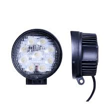 led automotive work light 27 watt led work lights 4 round warning and emergency light