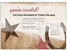 western invitation templates party invitation blank templates