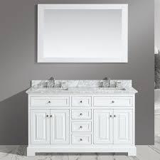 Urban Furnishings Rochelle  Double Bathroom Sink Vanity Set - Bathroom sink mirror