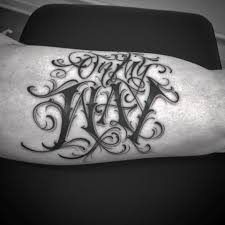 lettering arm tattoos tattoo lettering font writing gang arm tattoo tattoo for men