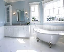 Bathroom Elegant Bathroom Accessories White Light Blue Curtain