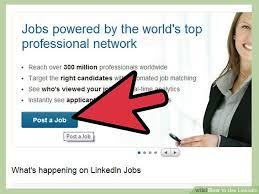 How To Post A Resume On Linkedin 6 Ways To Use Linkedin Wikihow