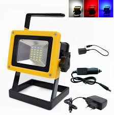 10w rechargeable flood light portable 10w rechargeable led floodlights ip65 waterproof outdoor