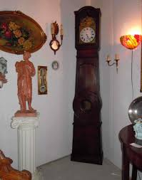 grandfather clock grandfather clock signed original poitou