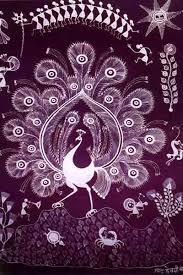 Warli Art Simple Designs Design Decor U0026 Disha Indian Art Warli Art Maharashtra