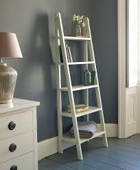 ikea style four story wood shelf ladder rack kitchen storage
