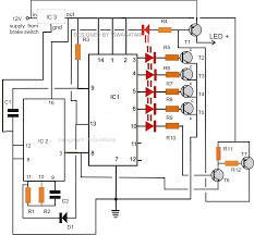 component lm3914 circuit diagram the led car voltmeter power