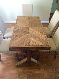 best wood for dining table top wood table top designs reclaimed wood table from island boardwalk