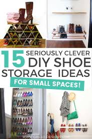 storage ideas for small bedrooms 15 clever diy shoe storage ideas grillo designs