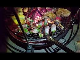 Cowboy Grill And Fire Pit by Cowboy Grill Cooking Outdoors New Years Eve Youtube