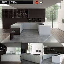 kitchen bva tea 3d model cgtrader