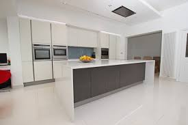 contemporary kitchen island designs handleless kitchen island design contemporary kitchen